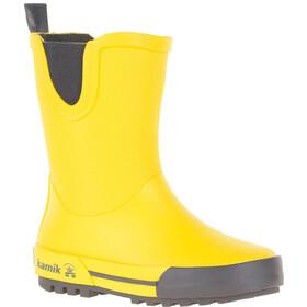 Kamik Rainplay Botas de agua de goma Niños, yellow